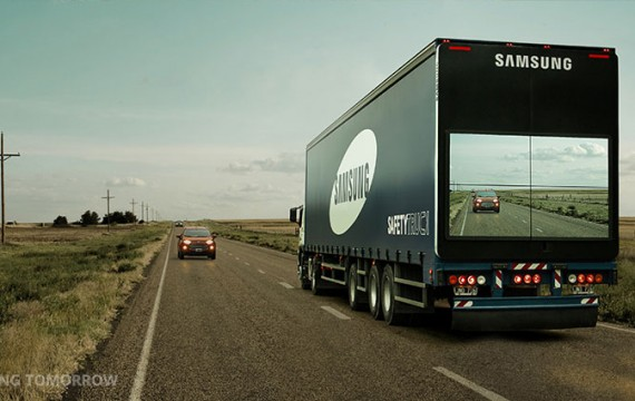 Samsung Transparent Truck