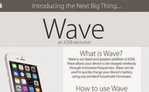 wave iphone hoax